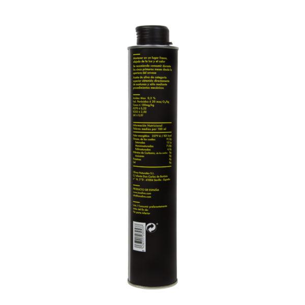 Aceite virgen extra Innoliva lata 500 ml Unnico Fresh